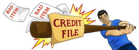 fix my credit by removing bad items