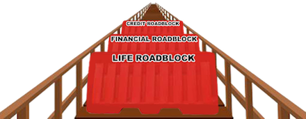 financial and credit Roadblock